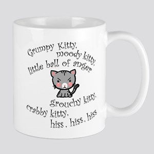Grumpy Kitty Mug