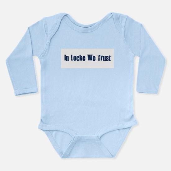 In Locke We Trust.png Long Sleeve Infant Bodysuit