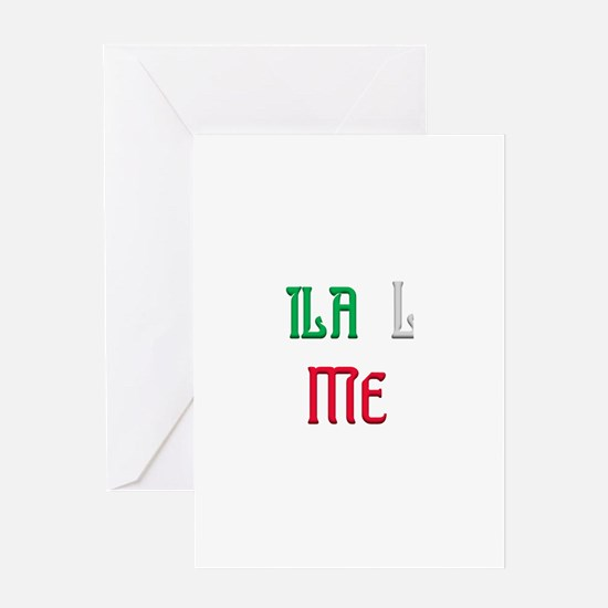 Tequila Loves Me.png Greeting Card