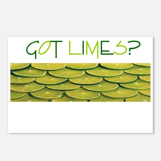 Got Limes.png Postcards (Package of 8)