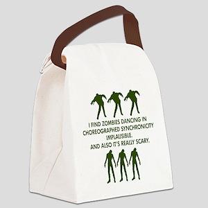 Big Bang Zombies Canvas Lunch Bag