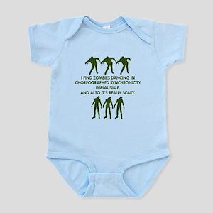 Big Bang Zombies Infant Bodysuit