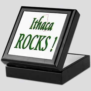 Ithaca Rocks ! Keepsake Box