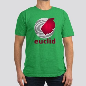 Euclid Space Telescope Men's Fitted T-Shirt (dark)