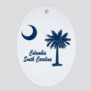 Columbia 1 Ornament (Oval)