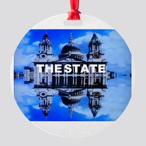 The State Round Ornament