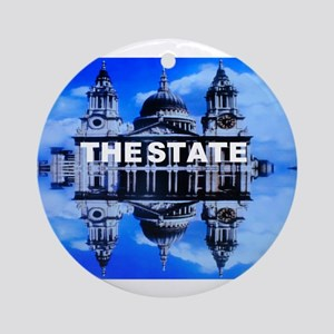 The State Ornament (Round)