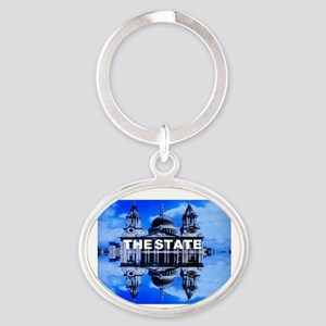 The State Oval Keychain