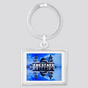 The State Landscape Keychain