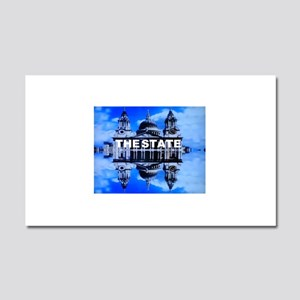 The State Car Magnet 20 x 12