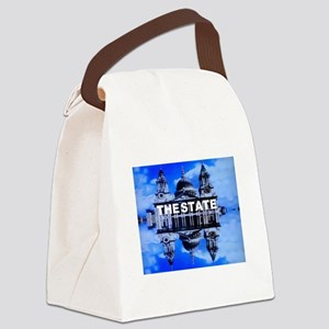 The State Canvas Lunch Bag