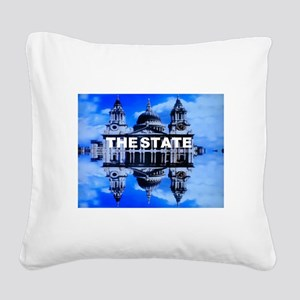 The State Square Canvas Pillow