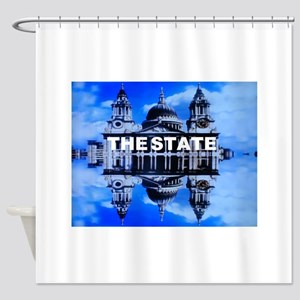 The State Shower Curtain