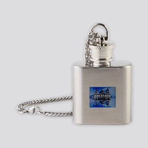 The State Flask Necklace