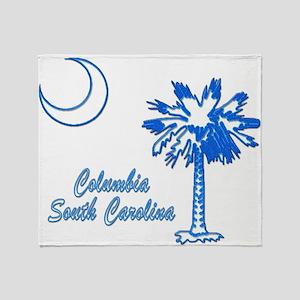 Columbia 3 Throw Blanket