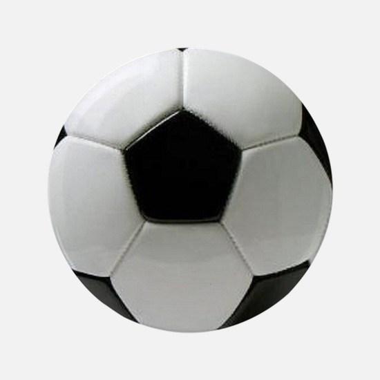 "Soccer Ball 3.5"" Button"
