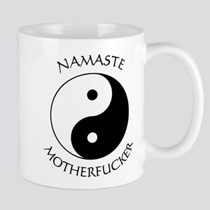 Namaste Motherfucker 4.pptx Mugs