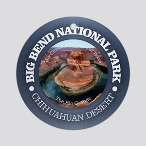 Big Bend NP Round Ornament