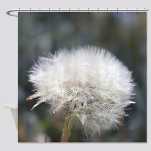 Fluffy Dandelion Shower Curtain
