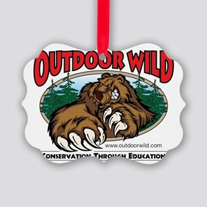 Outdoor Wild Gear Picture Ornament