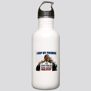 FREE STUFF Stainless Water Bottle 1.0L