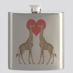 Giraffe Love Flask