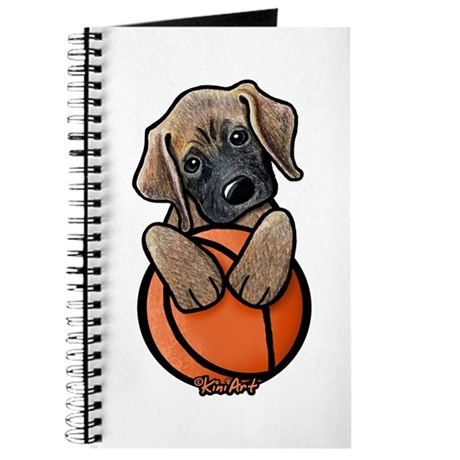Basketball Mastiff Puppy Journal