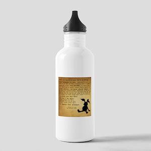 Velveteen Rabbit Print Stainless Water Bottle 1.0L