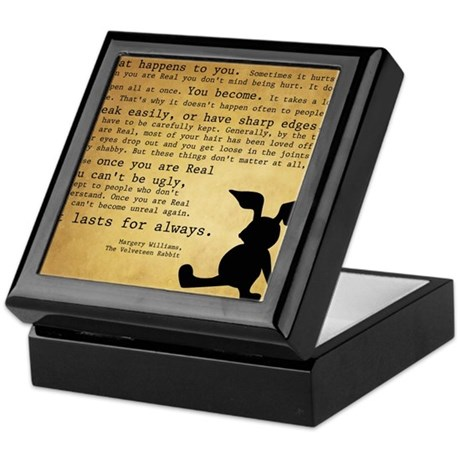 Velveteen Rabbit Print Keepsake Box