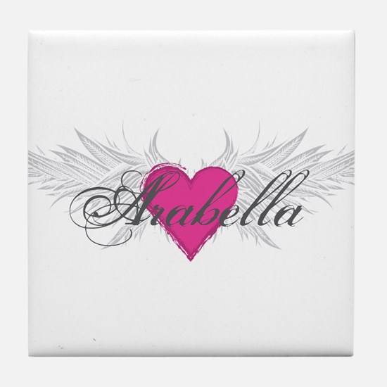 My Sweet Angel Arabella Tile Coaster