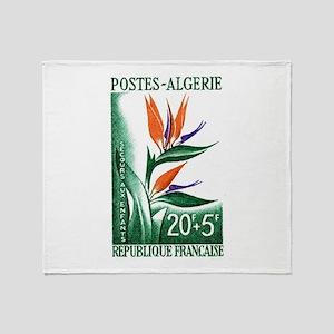 1958 Algeria Bird of Paradise Postage Stamp Stadi