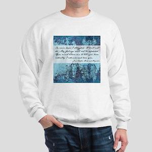 Pride and Prejudice Quote Sweatshirt