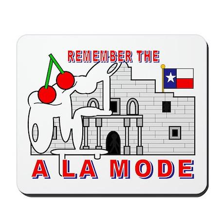 A LA MODE Mousepad