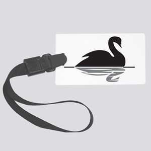 Black Swan Large Luggage Tag