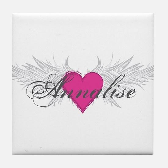 My Sweet Angel Annalise Tile Coaster