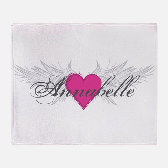 My Sweet Angel Annabelle Throw Blanket
