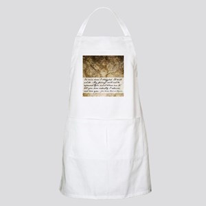 Pride and Prejudice Quote Apron