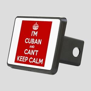 I'm Cuban and I Can't Keep Calm Rectangular Hitch