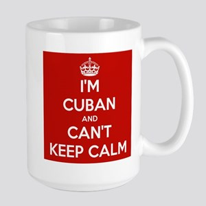 I'm Cuban and I Can't Keep Calm Large Mug