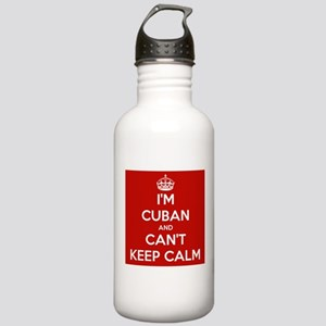 I'm Cuban and I Can't Keep Calm Stainless Water Bo