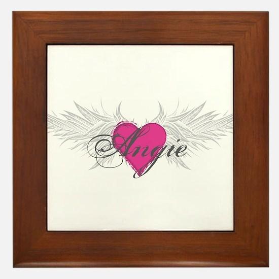 My Sweet Angel Angie Framed Tile