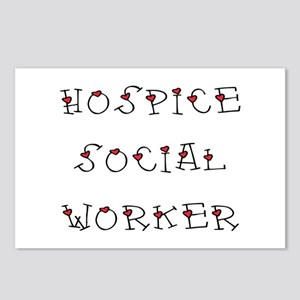 Hospice SW Hearts Postcards (Package of 8)