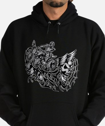 Off-Road Styles Blazed Wickedness outline Hoodie