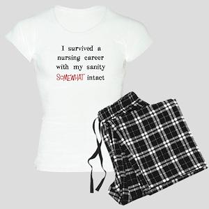 retired nurse t-shirts sanity intact Women's Light