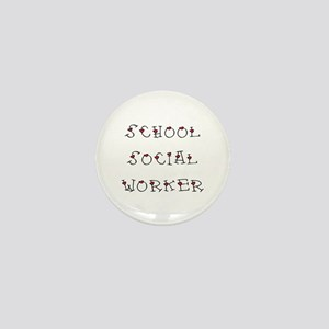 School SW Hearts Mini Button