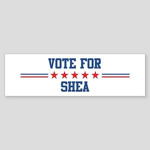Vote for SHEA Bumper Sticker