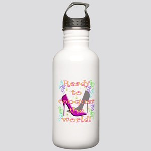 READY TO CONQUER THE WORLD Stainless Water Bottle