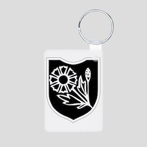 22nd SS Division Logo Aluminum Photo Keychain