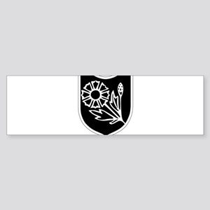 22nd SS Division Logo Sticker (Bumper)