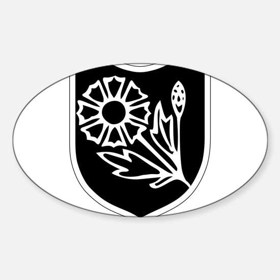 22nd SS Division Logo Sticker (Oval)
